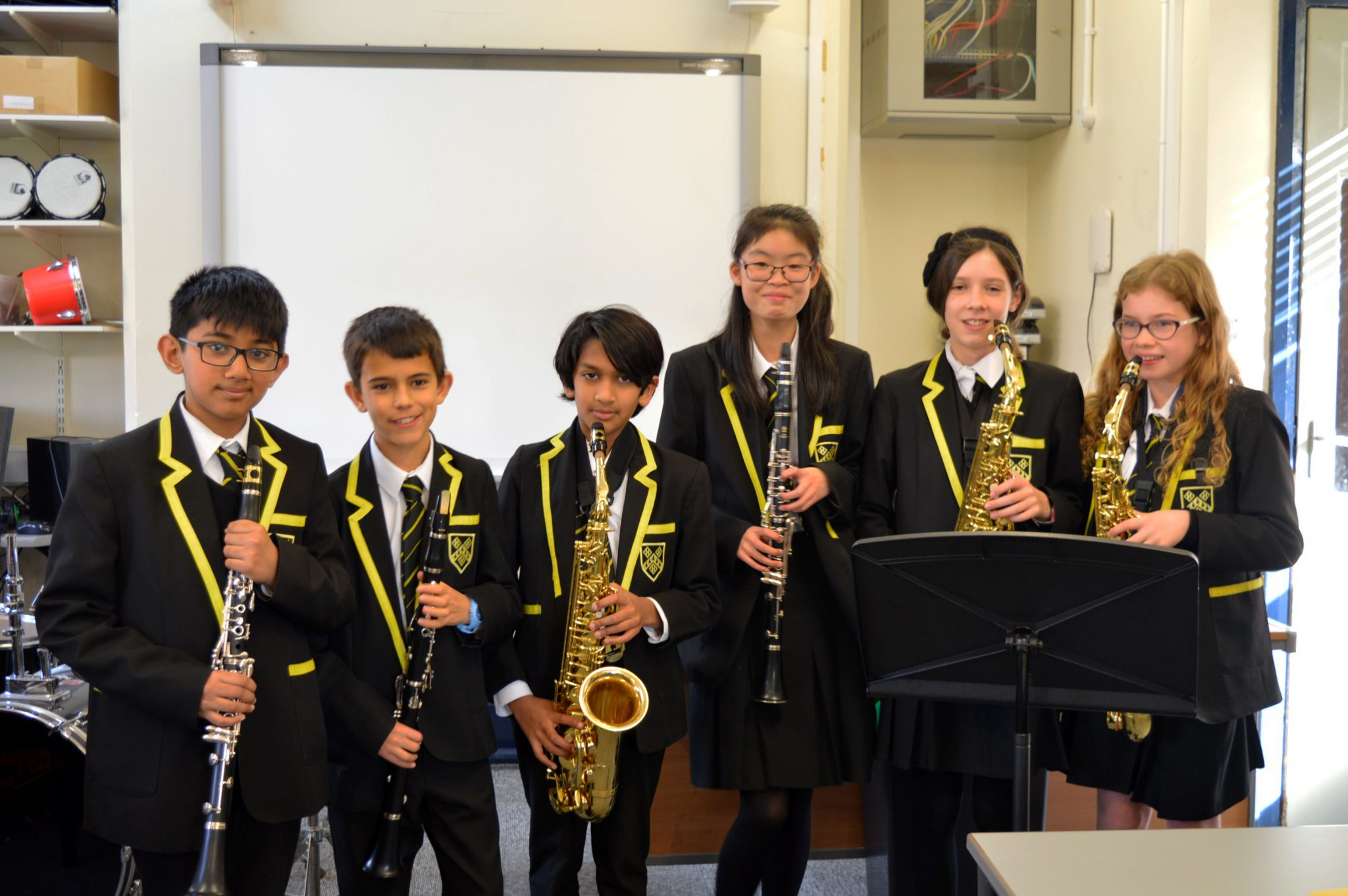First Year Musicians perfoming