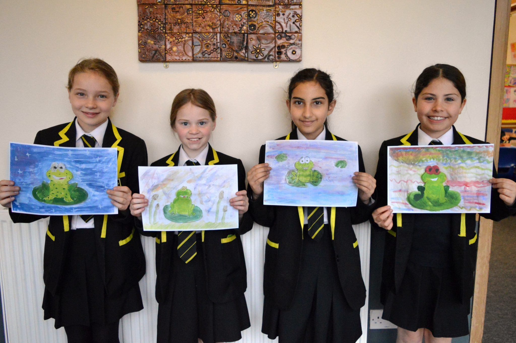 World Book Day Paintings