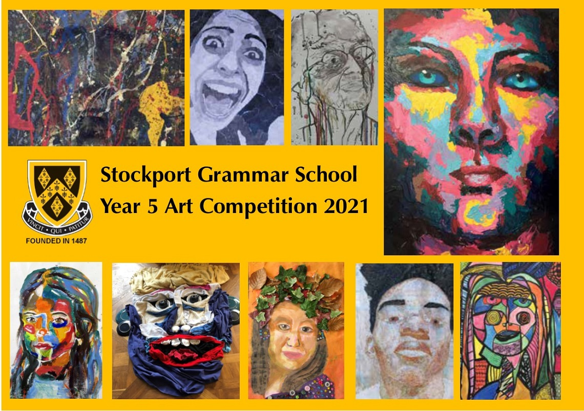 Year Five Art Competition invite