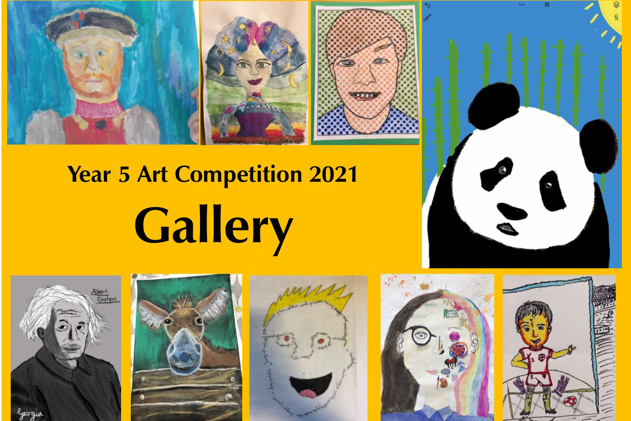 Year 5 Art Competition 2021 gallery image