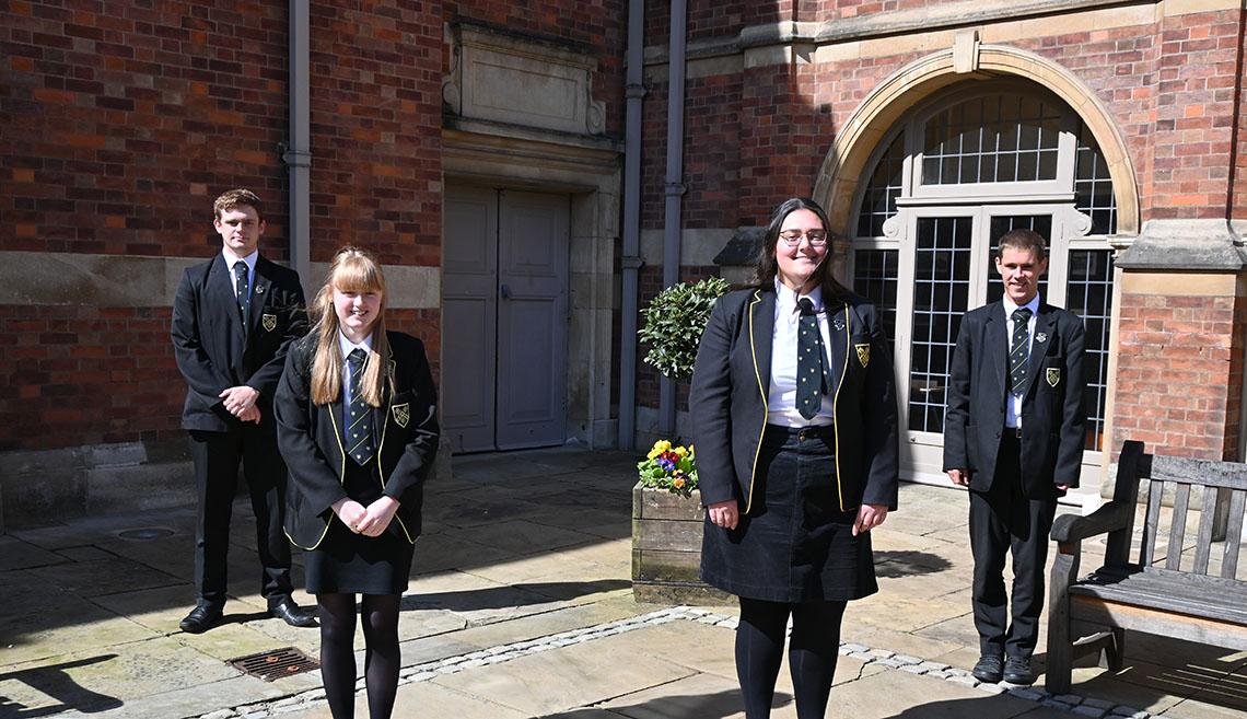 Upper Sixth students celebrate University offers