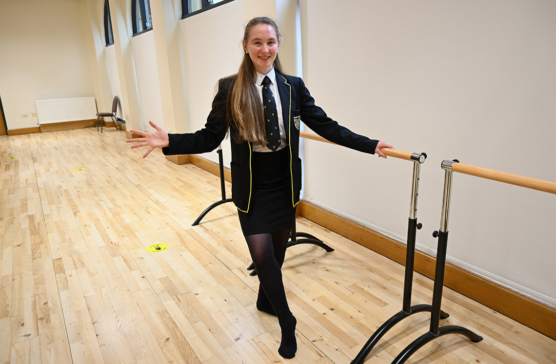 Sophia has been offered places at various Stage Schools including Laine Theatre Arts