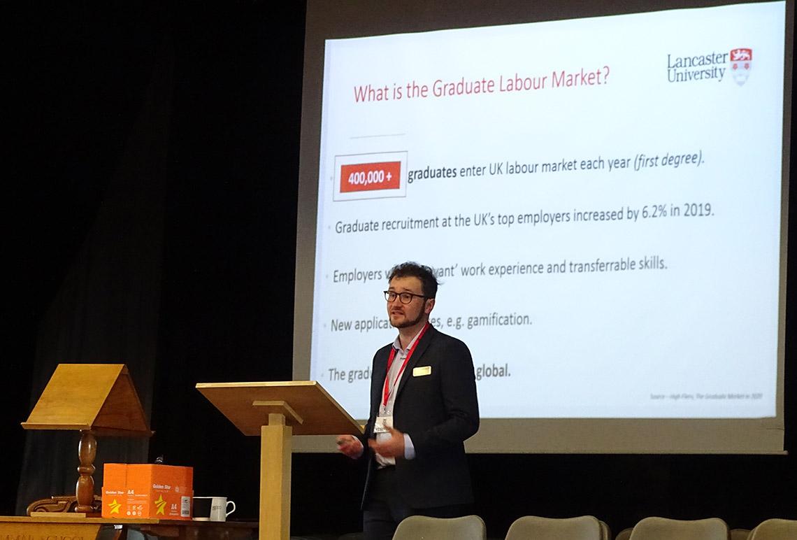 Jonny Parks talk at the 2021 Higher Education Conference