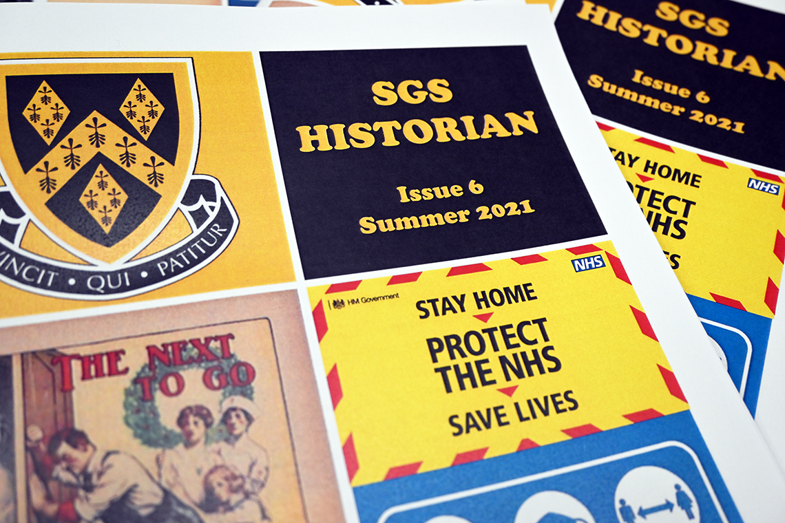 Issue Six of SGS Historian