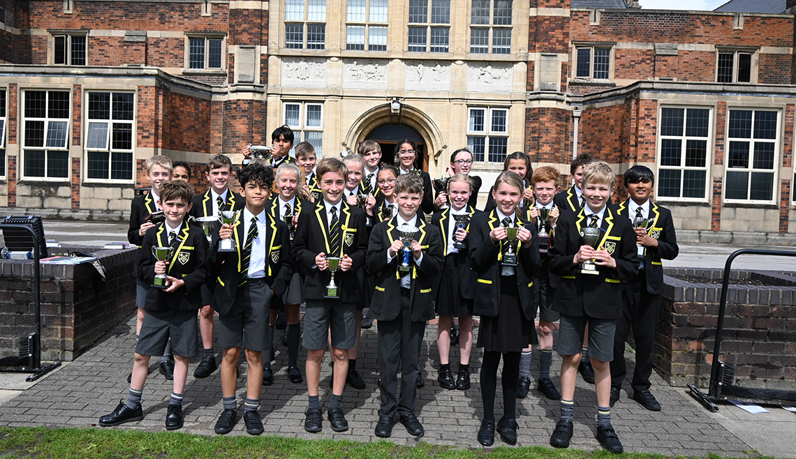 Junior School Prize Giving 2021 award winners